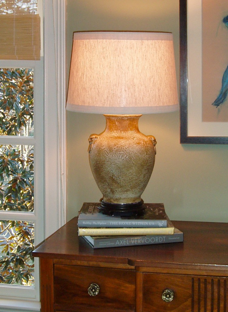 Updated lamp used in a Nashville Interior Design project.